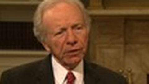 PBS NewsHour -- Sen. Lieberman Reflects on 24 Years in Senate, Sandy Hook