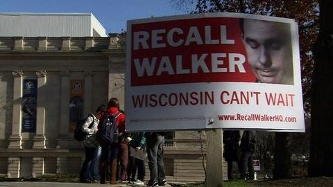 PBS NewsHour -- After Union Fallout, Wis. Gov. Scott Walker on the Brink...