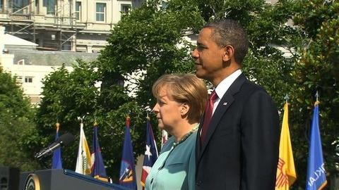 PBS NewsHour -- Europe's Economy, Libya Pose Test for U.S.-German...