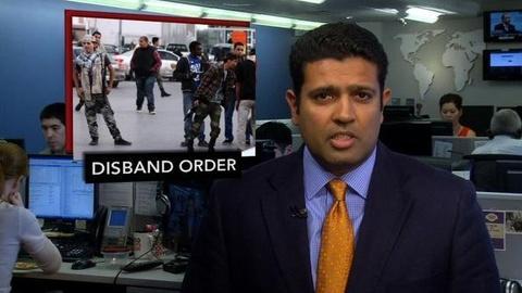 PBS NewsHour -- News Wrap: Libyan Military Disbands 'Illegitimate' Militias