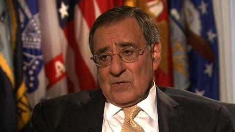 PBS NewsHour -- Panetta on Pentagon Budget: 'Cutting Almost $500 Billion...