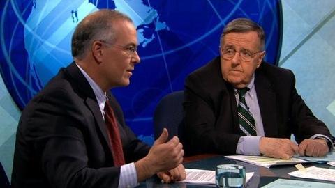 PBS NewsHour -- Shields, Brooks on Iowa Debate, 'Rattling Sabers' Over...