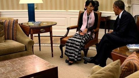 PBS NewsHour -- U.S. Eases Sanctions as Myanmar Passes Democratic Reforms