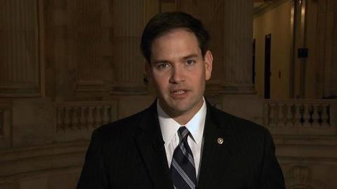 PBS NewsHour -- Romney Confident, Gingrich Defiant as Fla. Republicans Vote