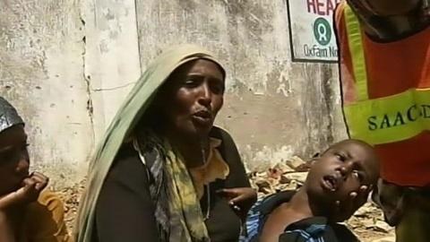PBS NewsHour -- Somalia Faces Famine as al-Qaida Threat Halts...