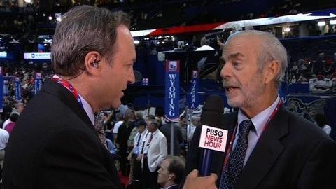 PBS NewsHour -- Voter Opinion on Romney's Likeability, Credibility, Faith