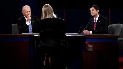 PBS NewsHour -- Both Campaigns Claim Victory After Spirited VP Debate