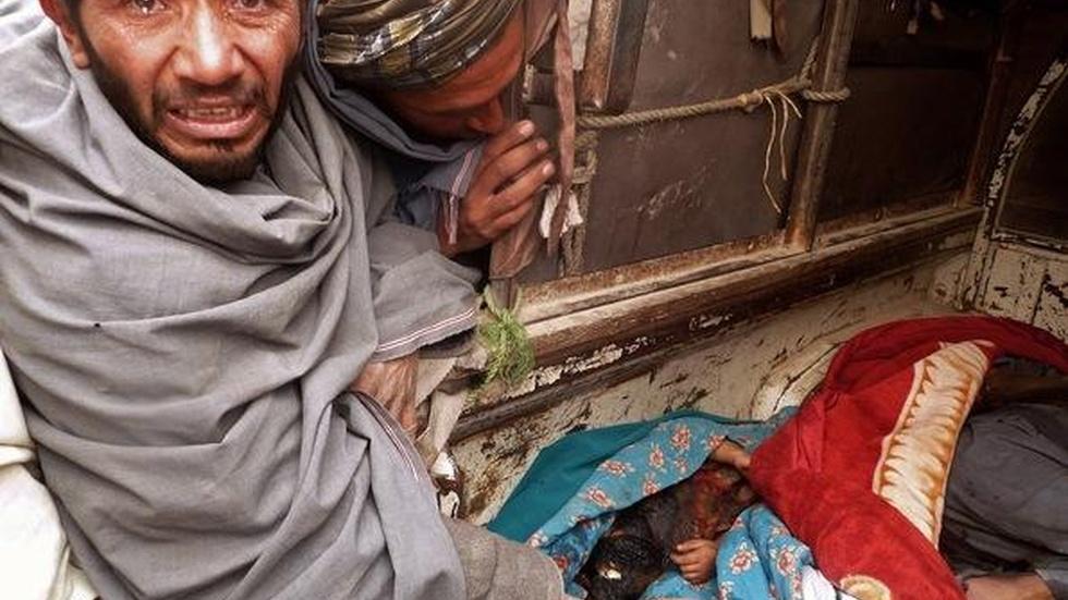 Analyst: Afghan Civilian Killings Give Taliban Propaganda image