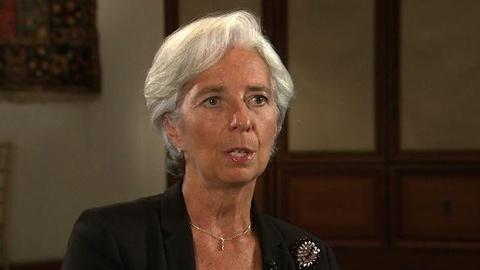 PBS NewsHour -- Lagarde on 'Worrisome' U.S. Debt Debate, Eurozone's Future