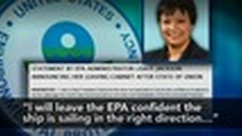 PBS NewsHour -- EPA Chief Steps Down, Obama's Environmental Policy Evaluated