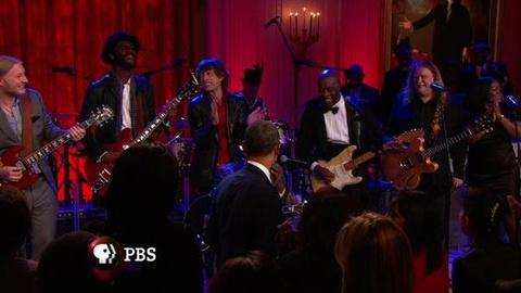 PBS NewsHour -- 'In Performance at the White House: Red, White and Blues'