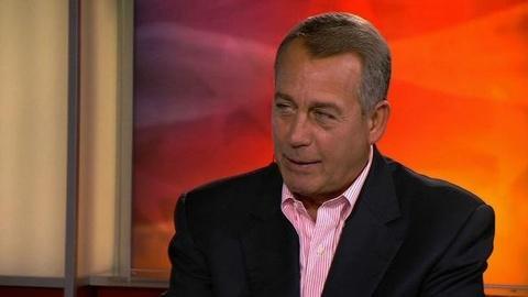 PBS NewsHour -- John Boehner on the GOP Platform and Romney's Speech