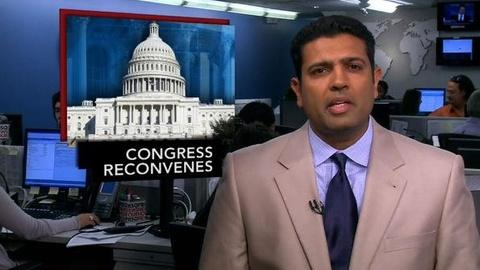 PBS NewsHour -- News Wrap: Congress Hopes for Budget Plan Before Election