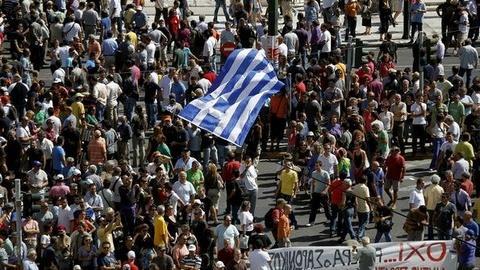 PBS NewsHour -- Spanish and Greek Responses to Debt Crisis Unleash Backlash