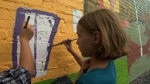 PBS NewsHour -- In Joplin, Art Helps Healing Amid 'Amazing Sense of Loss'...