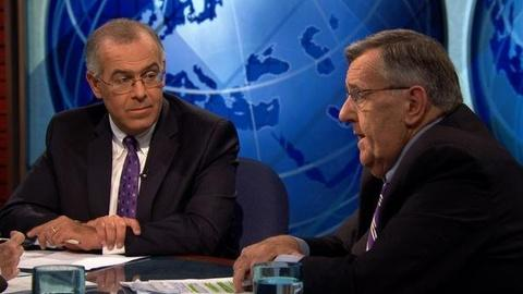 PBS NewsHour -- Shields, Brooks on Obama's Jobs Speech, Perry's Debate Debut