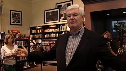 PBS NewsHour -- Union Leader Publisher on Gingrich Endorsement: 'He's a...