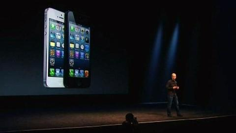 PBS NewsHour -- Apple Unveils iPhone5 Amid Competitive Smartphone Market