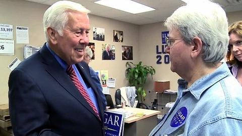PBS NewsHour -- Indiana Sen. Lugar Targeted for Defeat by His Own Party
