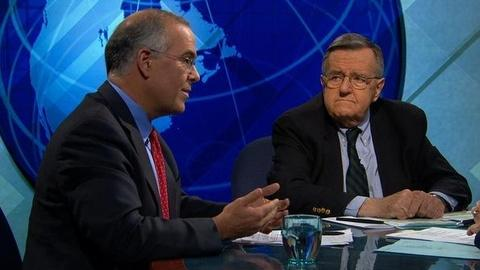 PBS NewsHour -- Shields and Brooks on Jobless Rate Woes, Romney vs. Palin