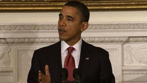 PBS NewsHour -- President Obama Shifts on Health Care Reform Law for States