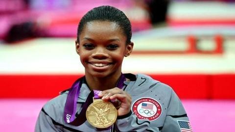 PBS NewsHour -- Historic Win for U.S. Gymnast Douglas; U.K. Gets First Gold