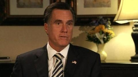 PBS NewsHour -- Romney: Voters Must Replace Obama to 'Keep America Strong...