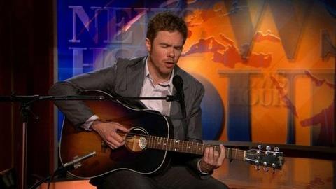 PBS NewsHour -- Josh Ritter Sings 'Girl in the War'