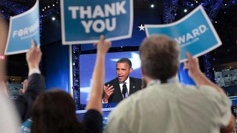 PBS NewsHour -- President Obama's DNC Speech
