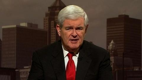 PBS NewsHour -- Gingrich on New 'Contract With America,' Jobs, Brain...