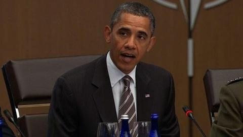 PBS NewsHour -- Obama Stresses Afghan Stability and Exit Plan at NATO Summit