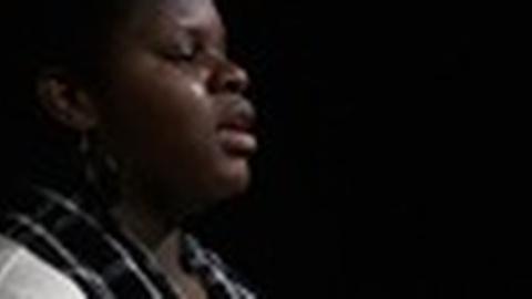 PBS NewsHour -- Spoken Word Artist Conjures Power of 'Change'