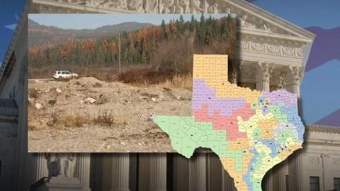PBS NewsHour -- Supreme Court Hears Arguments on Texas Redistricting,...