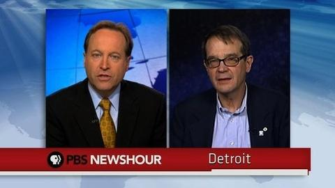 PBS NewsHour -- UAW President Bob King on New Contracts: Top Priority Was...