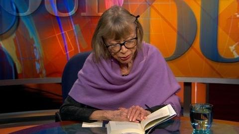 PBS NewsHour -- Joan Didion Reads From 'Blue Nights'