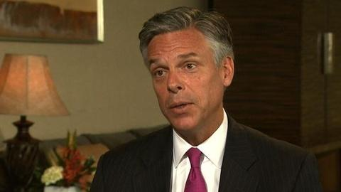 PBS NewsHour -- Huntsman: I Can 'Put the Numbers Together to Actually Win...