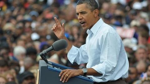 PBS NewsHour -- Obama Rallies Support for Jobs Speech as GOP Contenders...
