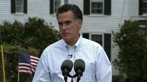 PBS NewsHour -- Romney Names Job Growth as Top Priority in '12 Race