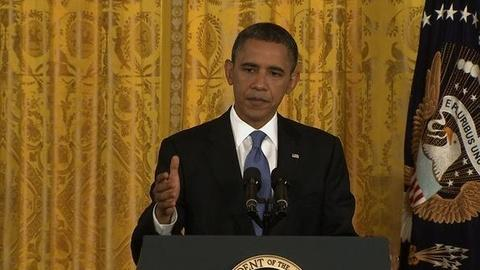 PBS NewsHour -- Obama to Congress: Vote on Jobs Bill or Find Better Idea