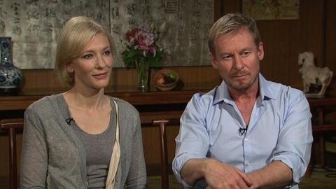 PBS NewsHour -- Full Interview: Cate Blanchett and Richard Roxburgh
