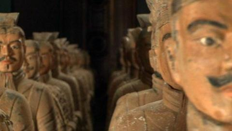 PBS NewsHour -- Newly Cast Terra Cotta Warriors Look to More Peaceful Future