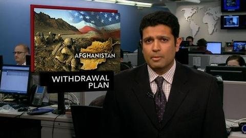 PBS NewsHour -- News Wrap: U.S. Withdrawal From Afghanistan on Track for...