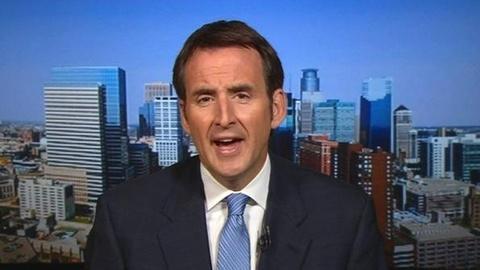 PBS NewsHour -- Pawlenty Outlines Romney's Economic Record, Labor Stance