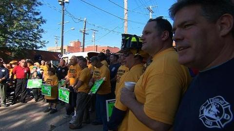 PBS NewsHour -- Ohio Voters Reject Law Curbing Union Rights
