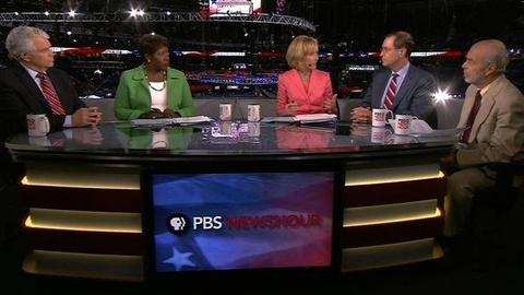 PBS NewsHour -- WIll Americans Buy Romney Plan to Turn Around the Economy?