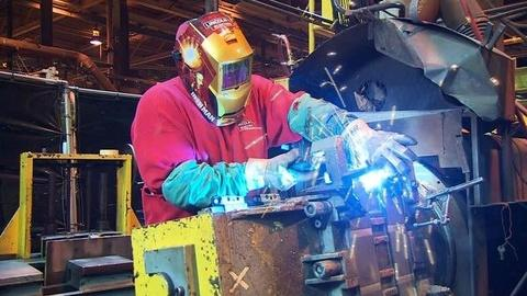 PBS NewsHour -- Cleveland Company Welds Job Security With Profits