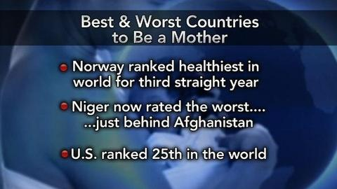 PBS NewsHour -- The Best and Worst Places to Be a Mom