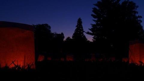 PBS NewsHour -- Fredericksburg Battlefield Lights Up in Memorial of Civil...