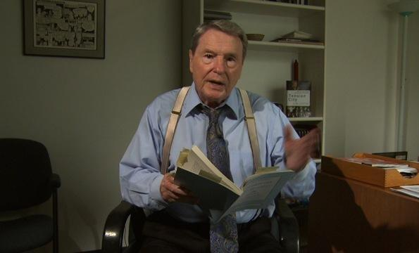 Jim Lehrer Reads From His Book, 'Tension City'