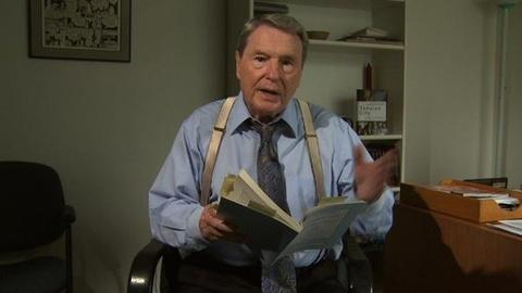 PBS NewsHour -- Jim Lehrer Reads From His Book, 'Tension City'